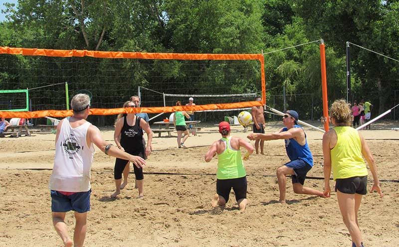 Volleyball Beach Voted Best Place to Play Volleyball!