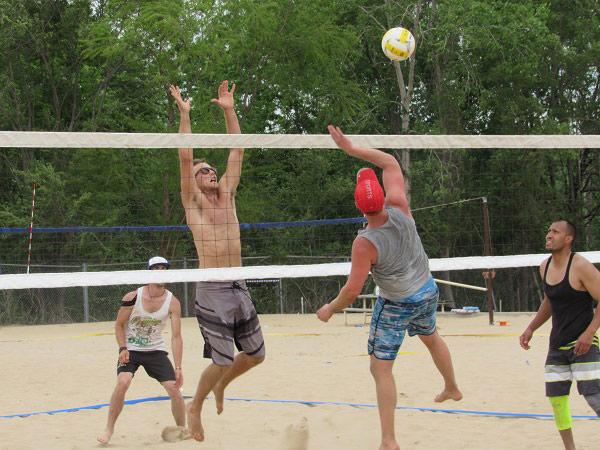 Volleyball Beach Kansas City S Best Beach Volleyball